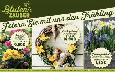 Aktionswochen Feiern Sie mit uns den Frühling!